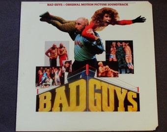 "Bad Guys - Original Motion Picture Soundtrack - ""Soul Man""  ""Hold On, I'm Coming"" - Polygram 1986 Promo Copy - Vintage Vinyl LP Record Album"