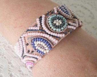 Pink Boho Bracelet, boho jewelry hippie jewelry bohemian jewelry gypsy jewelry hippie bracelet bohemian bracelet gypsy bracelet new age