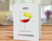 Funny wine card, Wine car...