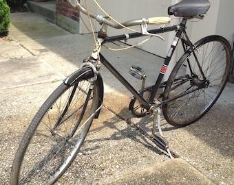 Olympic deluxe black mens 1980's bike
