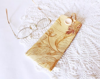 Eyeglass case Glasses case Eyeglass pouch Fabric pouch Fabric Eyeglasses case Mom gift for women Gift for her Mother day gift for Mom