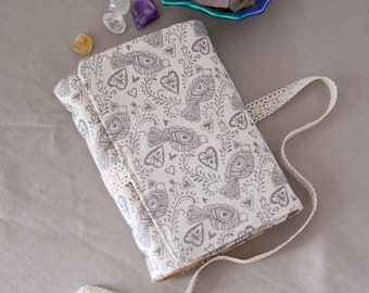 Journal Diary -  Writing Journal Handmade with 160 Blank Pages Recycled Paper