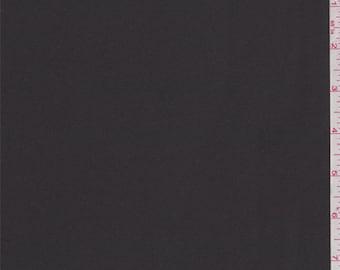 Charcoal Black Satin Chiffon, Fabric By The Yard