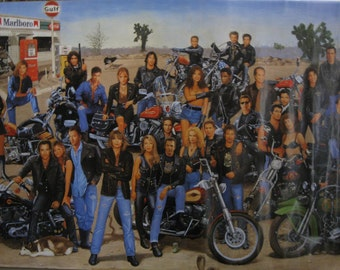 Hollywood Bikers Poster