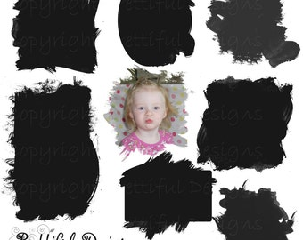 Photo Masks - Personal or Commercial Use - Set 4