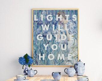 Coldplay Lyrics Print, art print, wall art, Fix You, fine art, X&Y, Alternative, Indie Band, pop, 8x10 Print, Gift Ideas, Home Decor