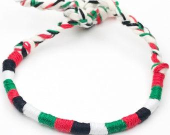 Palestine Flag Bracelet