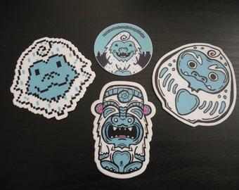 Yeti Sticker Set