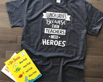 Lunch Lady Heroe T Shirt
