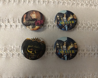 Vintage rock and roll pins Skayer