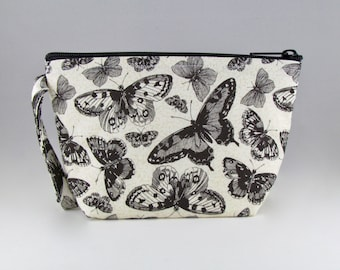 Butterfly Madness Makeup Bag - Accessory - Cosmetic Bag - Pouch - Toiletry Bag - Gift