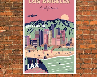 Los Angeles City Poster