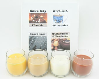 SALE Custom Mini Candle Gift Set
