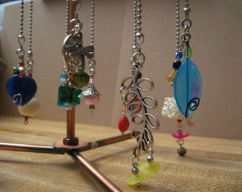 Inventory SPECIALs - 2 or more 10 dollars each - Light or FAN pull or Rear View Mirror Charms