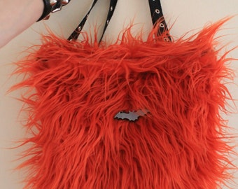 Furry Backpack - Choose A Colour