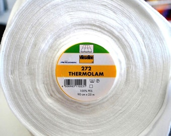 Fleece sewing batting 272 Thermolam - insulating fleece - sewing, patchwork, making pot, mat - iron Protection