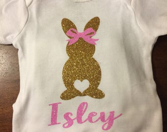Little girl eater onesie