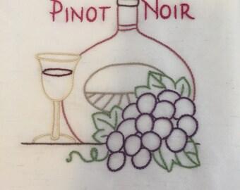 Wine country - pinot  noir