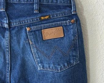 Vintage Wrangler Paint Splattered Men's Denim Jeans