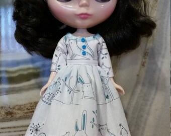 Blythe outfit - dress and headband