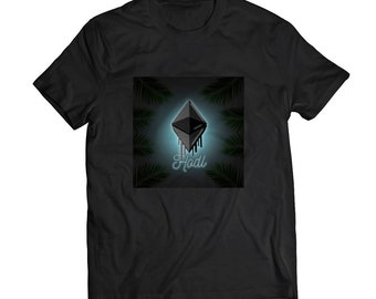 "Ethereum ETH ""HODL"" T-Shirt - Made In USA"
