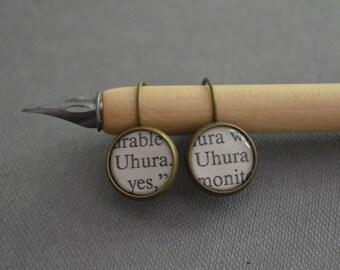 Uhura Star Trek Earrings