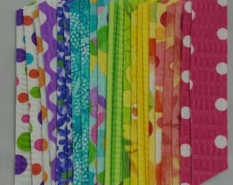 Tutti Frutti Fabric Washi Tape, 22 strips