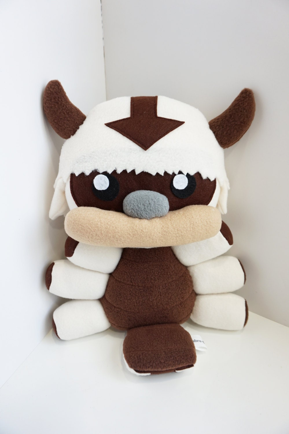 Appa Plush Inspired By Avatar The Last Airbender Flying Bison
