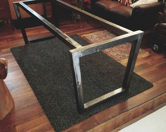 Metal table frame