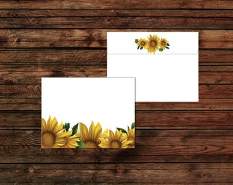 Sunflowers  - Envelope Set - A2 Envelopes