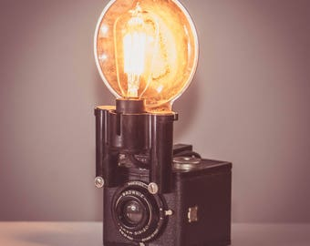 Antique Kodak Brownie 16 Lamp