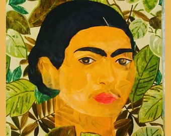 frida kahlo Self Portrait 31X31
