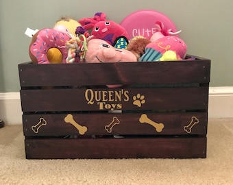 Dog Toy Crate