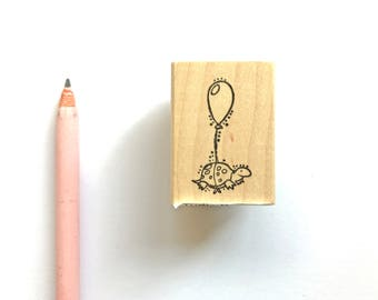 Turtle Balloon Stamp