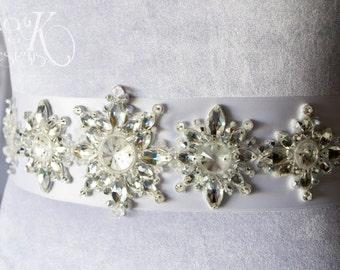Snowflake bridal Etsy