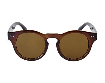 Brown Pantos Sunglasses