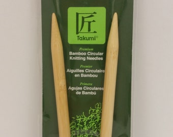 Clover Takumi Bamboo Premium Circular Knitting Needles Size 13 (9mm) 29 inches (74 cm) long