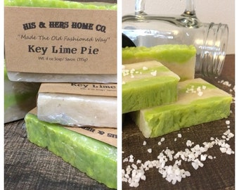 Key Lime Pie Artisan Soap