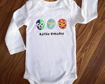 LuchaDorable Baby Bodysuit