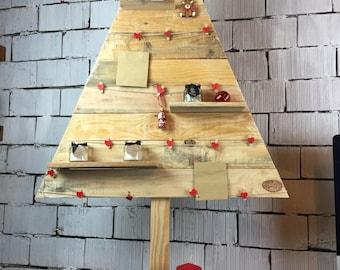 Shelftree, Christmas tree with Advent calendar