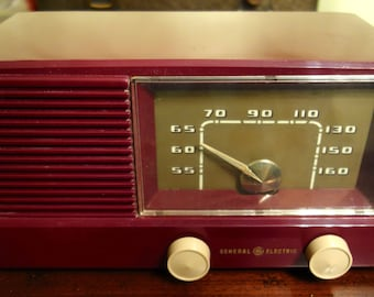 Vintage 50's General Electric Radio Model 416