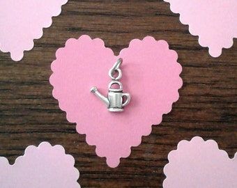 SALE - Sterling Silver Watering Can Charm
