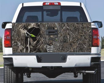 Truck Tailgate Wrap Decal  Reaper Ghost Woods Camo 3m Vinyl 7Yr