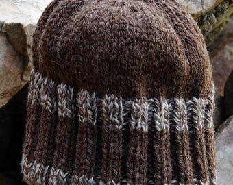 Kat's Patterns: Reversable Heavy Weight Hat pattern using worsted yarn