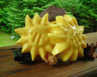 Sun Burst Bath Soap w/ Goats milk