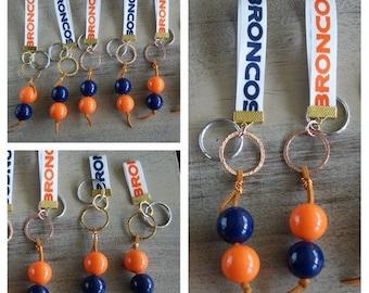 Broncos Keychains