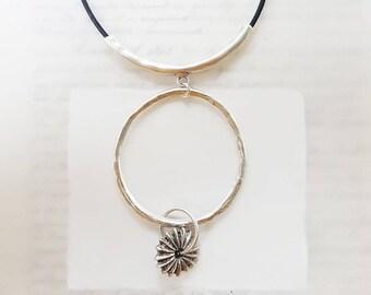 Sea Urchin Pendant Necklace - Pendant Necklace - Silver Necklace - Necklace Gift - Gift Ideas - Gift For Her - Vintage Necklace - Zamsoe
