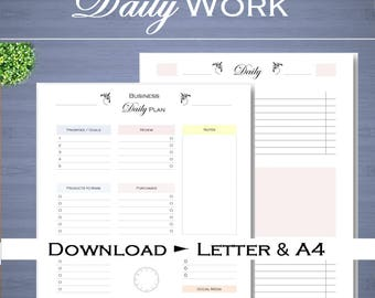 business weekly work planner daily work organizer weekly