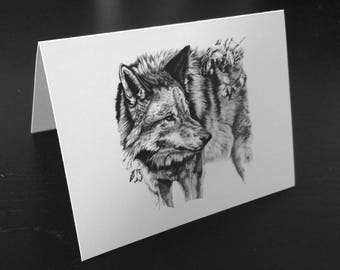 Wolf Notecard - Defend the Earth