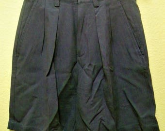 TOMMY BAHAMA LUXURY Women's Lavender 100% Silk Pleated Front 4 Pocket Yacht/Boat Shorts Size 4